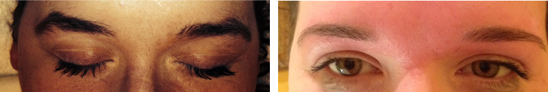 Eyebrow Styling, Before & After, Zoe Spa